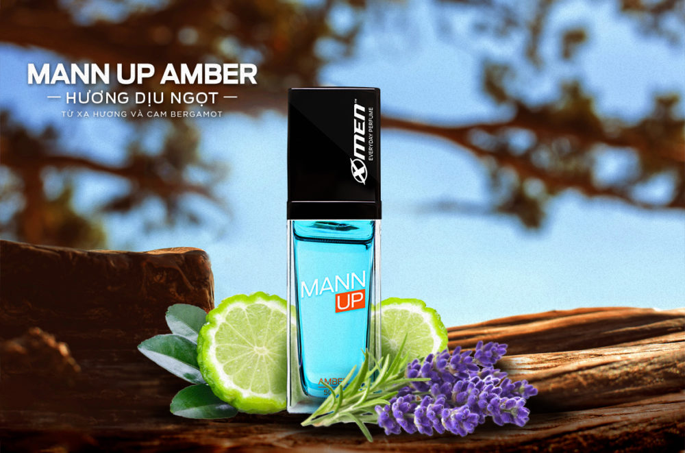 Nước hoa Mann Up Amber