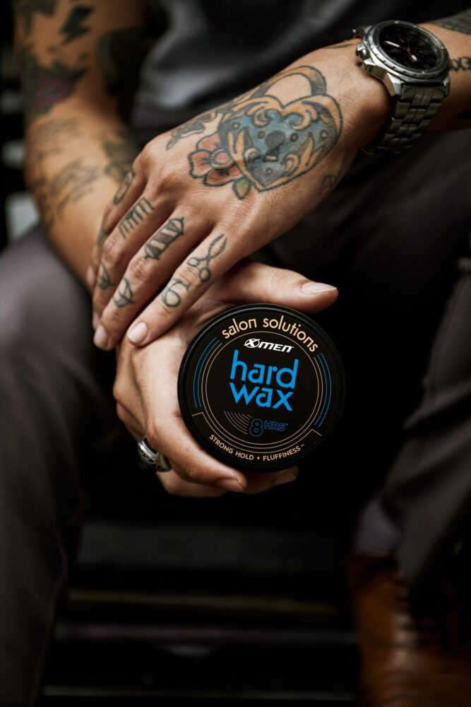 hard wax x-men - sáp vuốt tóc nam