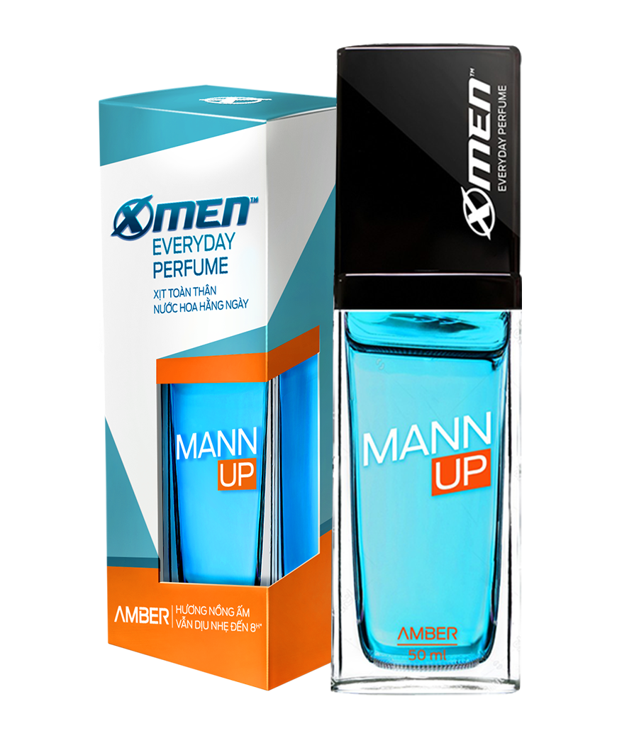 """Mann Up <span style=""""color:#f26c22"""">Amber</span>"""