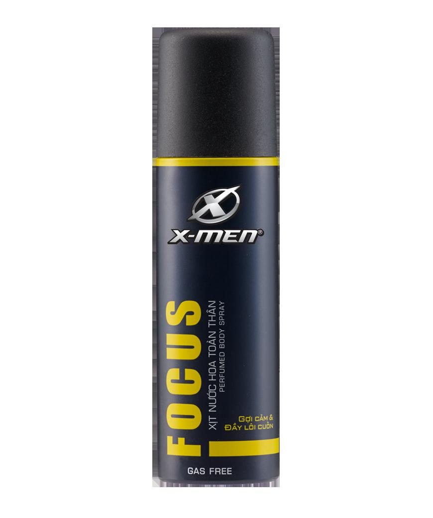 """X-Men <span style=""""color:#d3b800"""">Focus</span>"""