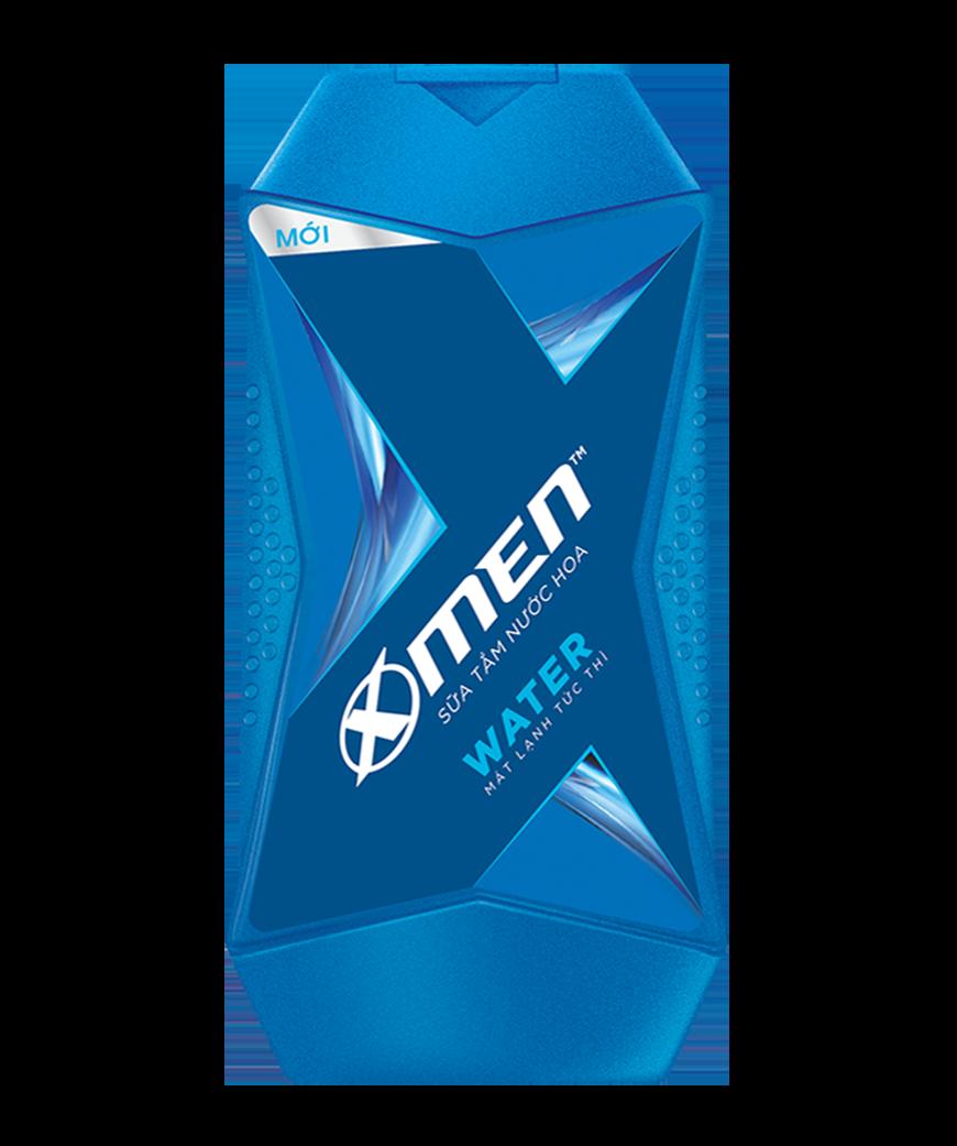 """X-Men <span style=""""color:#00b1e2"""">Water</span>"""